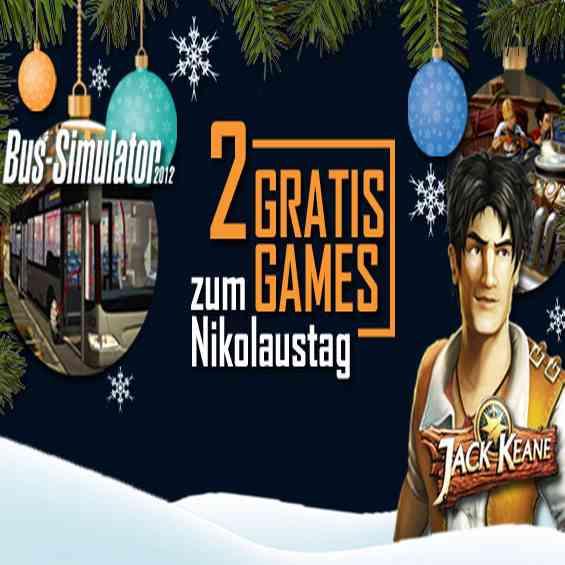 [PC / NO-STEAM] McGame verschenkt zum Nikolaus 2 Games: Jack Keane und Bus Simulator 2012