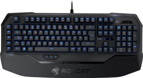 [amazon.de] Roccat Ryos MK Pro | Mechanische Gaming Tastatur mit Per-key Illumination | DE-Layout | Einzeltastenbeleuchtung | Mechanische Tasten | MX Key Switch braun oder rot für 99,99€ anstatt 150€
