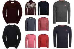 Neuer Herren Superdry Pullover Versch. Modelle und Farben
