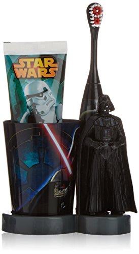Cartoon Star Wars elektrische Zahnbürste + Becher + Zahnpasta für 12,44 EUR Amazon Prime