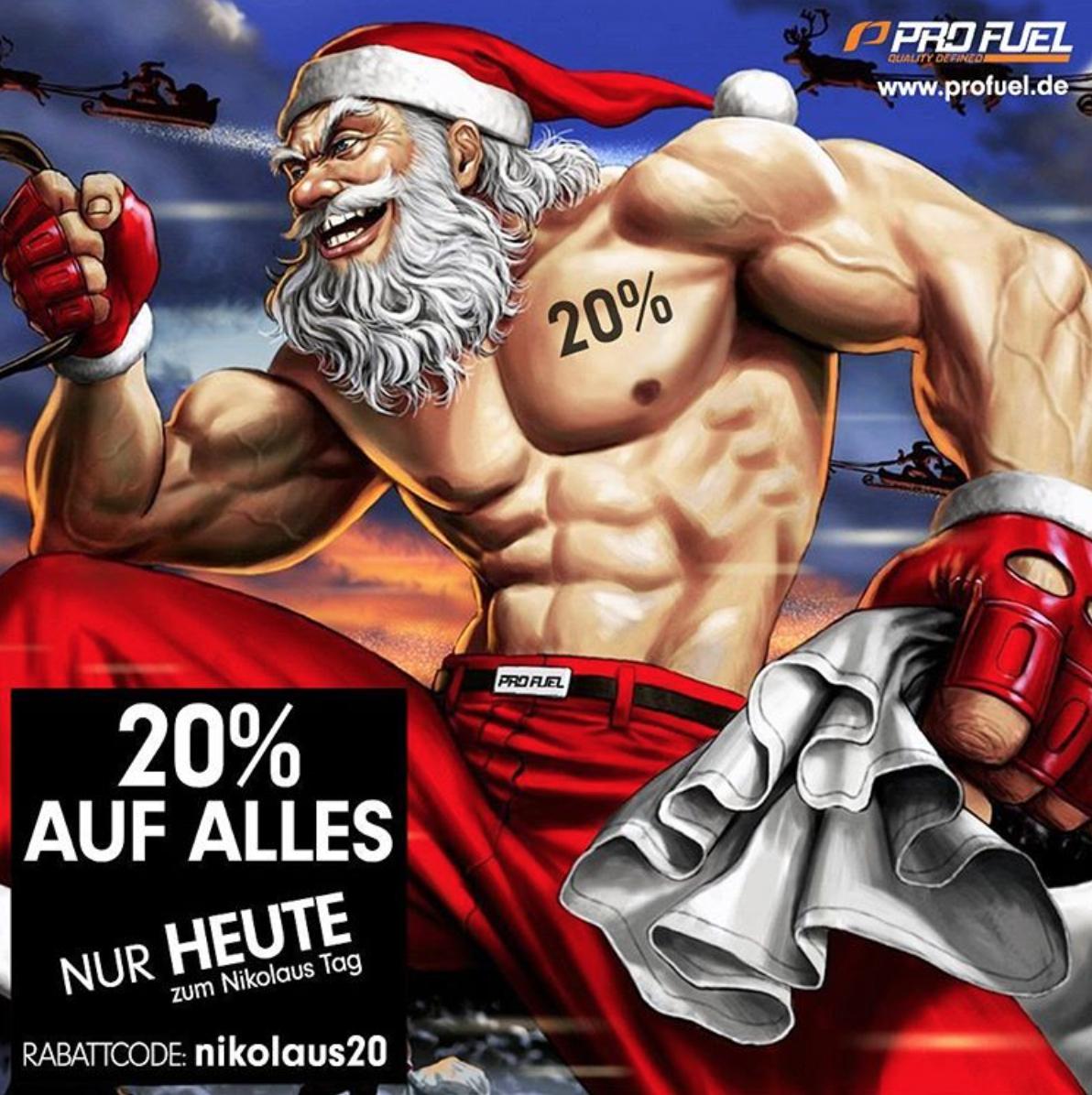 20% Rabatt bei Profuel.de - z.B. Alphaminos für 18,37€