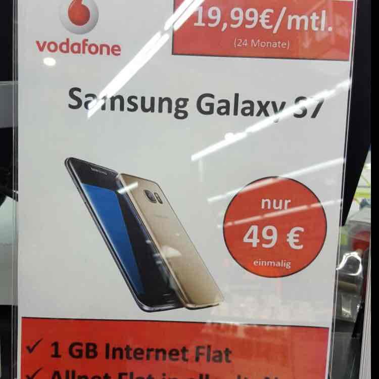 Samsung S7 für einmalig 49€ bei Mobilcom Debitel - 19,99€ mntl. - Allnet Flat - 1GB Internet