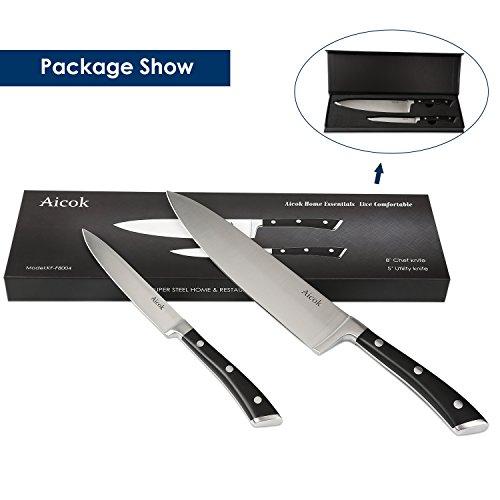 Messer-Set mit Edelstahlklinge
