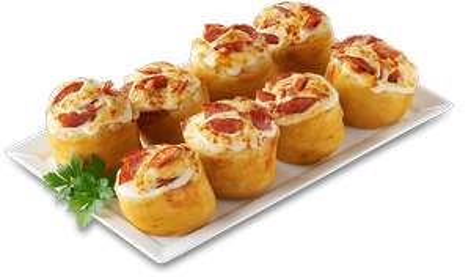 [Call a Pizza Adventskalender] 8 Pizzabrötchen (diverse Sorten) für 1€! [MBW 7,50€]