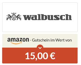 [Spartanien] 4,05€ Gewinn möglich! 15€ Amazon-Gutschein für Bestellung bei Walbusch, kein MBW, 5,95€ Porto