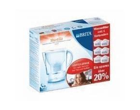 Brita Marella Wasserfilter Halbjahrespaket, Inkl. 6x MAXTRA Kartuschen für 6 Monate für nur 27,99€ inkl. Versand