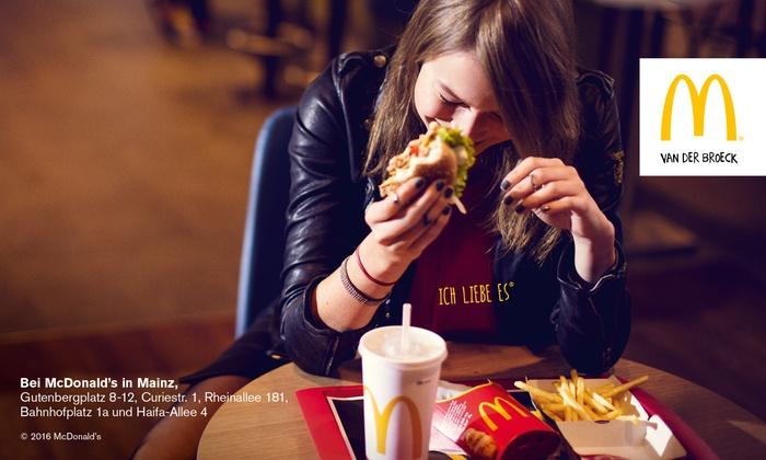 McDonald's Mainz - Menü nach Wahl