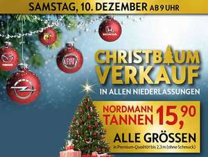 Nordmann Tannen bei Häusler in und um München nur 15,90€