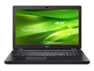 [AMAZON] Acer TravelMate P276-M-522S 43,3 cm (17,3 Zoll HD+) Notebook (Intel Core i5-4210U, 4GB RAM, 500GB HDD, DVD, Intel HD Graphics, kein Betriebssystem) schwarz