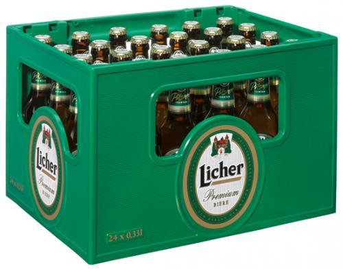 2 Kasten Licher für nur 16,90 € in Rewe Märkten Hessen (ev. mehr)