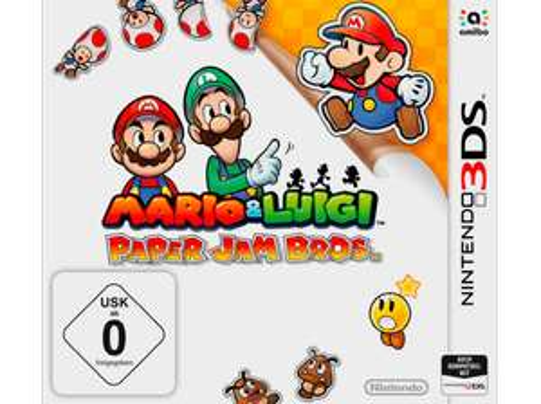 (MM Online) Mario und Luigi: Paper Jam Bros (Nintendo 3DS) für 25€