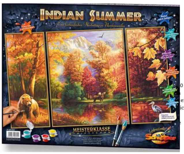 Indian Summer, Malen nach Zahlen, Schipper