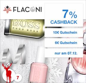(über SHOOP --> Adventskalender) Flaconi mit 7% Cashback + 6€ Rabatt oder 10€ Rabatt
