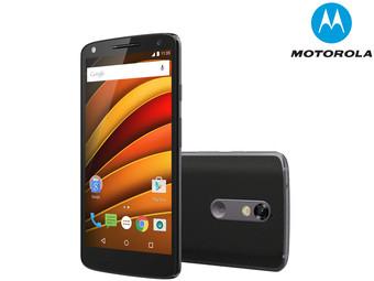 [ibood] Motorola Moto X Force LTE-Smartphone 13.7 cm (5.4 Zoll) 2 GHz Octa Core 32 GB 21 Mio. Pixel Android 6.0.1 Schwarz (EU-WARE)