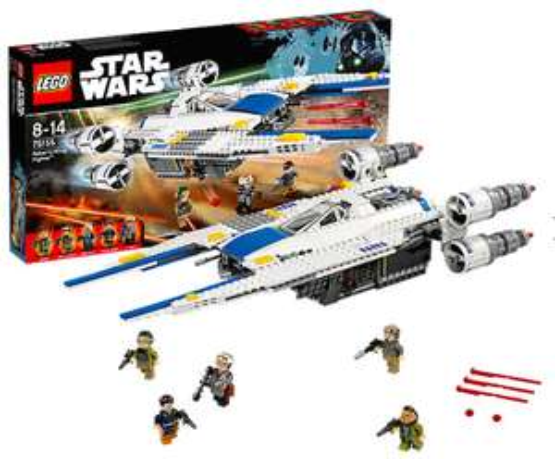 15% Rabatt auf ausgewählte Lieblingsstars ab 39€ MBW bei [MyToys] z.B. Lego 75155 Star Wars: Rebel U-Wing Fighter für 53,19€ inkl. VSK statt ca. 62€