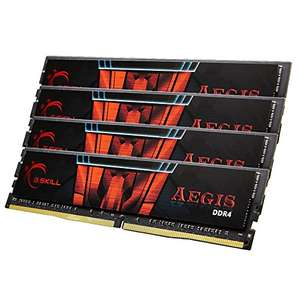 (Amazon.it) G.SKill Aegis 32GB Kit DDR4-2400 CL15 für 129,24€