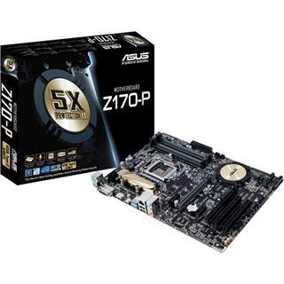 ASUS Z170-P Mainboard Sockel Intel® 1151 @ Notebooksbilliger (Masterpass Gutschein) 111,90 - 20€ - 40€ Cashback = 51,90€ (57€ unter Idealo!) | ASUS Z170-A ebenfalls für 84,90€