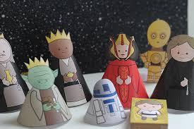 [Gratis] Star Wars Krippenspiel - zum basteln!