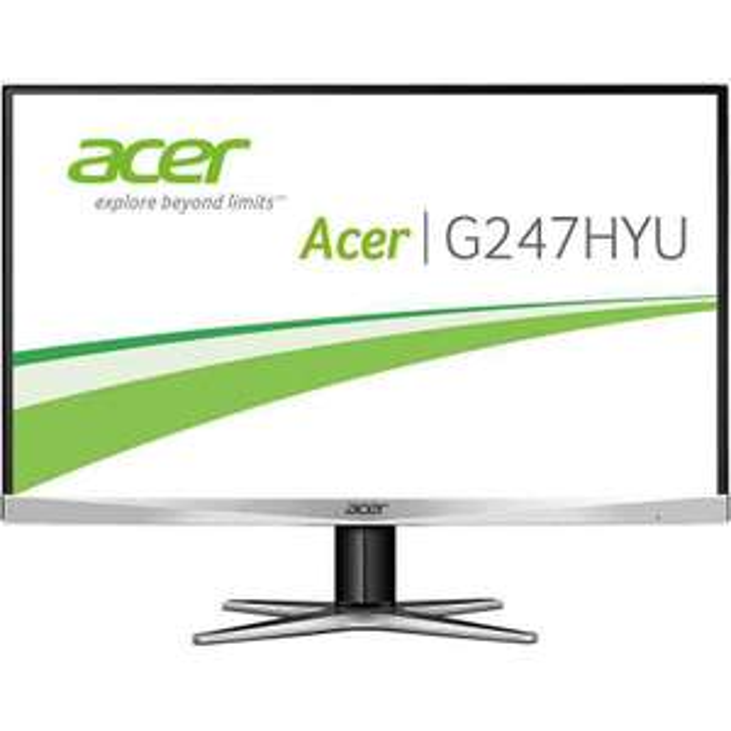 "ACER G247HYUsmidp 60cm(23,8"") WQHD Zero-Frame Monitor mit 100%sRGB /IPS/DP/HDMI"