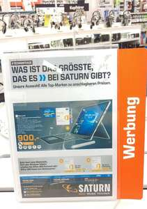 [Lokal] Saturn Osnabrück - Microsoft Surface Pro 4 (i5,4GB,128 GB SSD) incl. Type Cover und Office 365 Personal