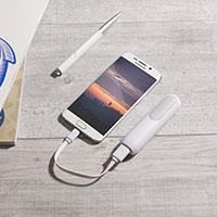 tragbarer universal USB Power Akku fuers Smartphone gratis (nur Versand)
