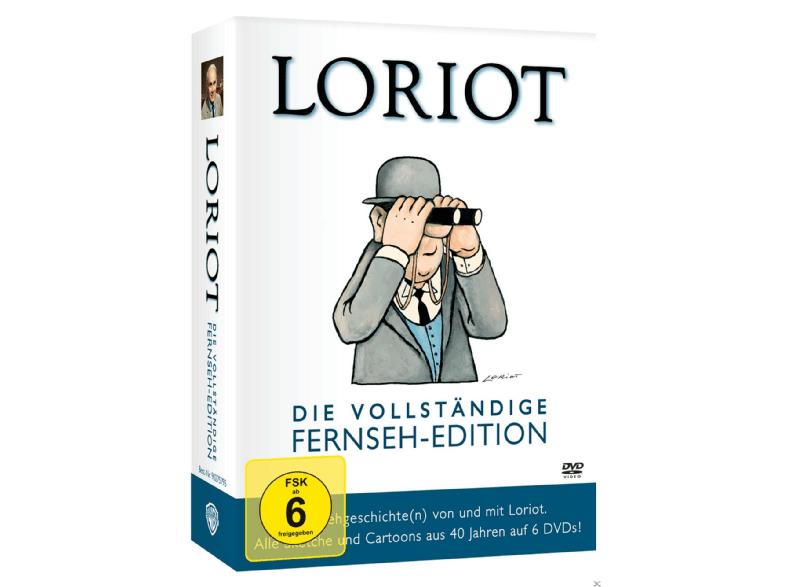 Loriot - Die vollständige Fernseh-Edition - (DVD)bei Saturn.de für 20,- VSK Frei