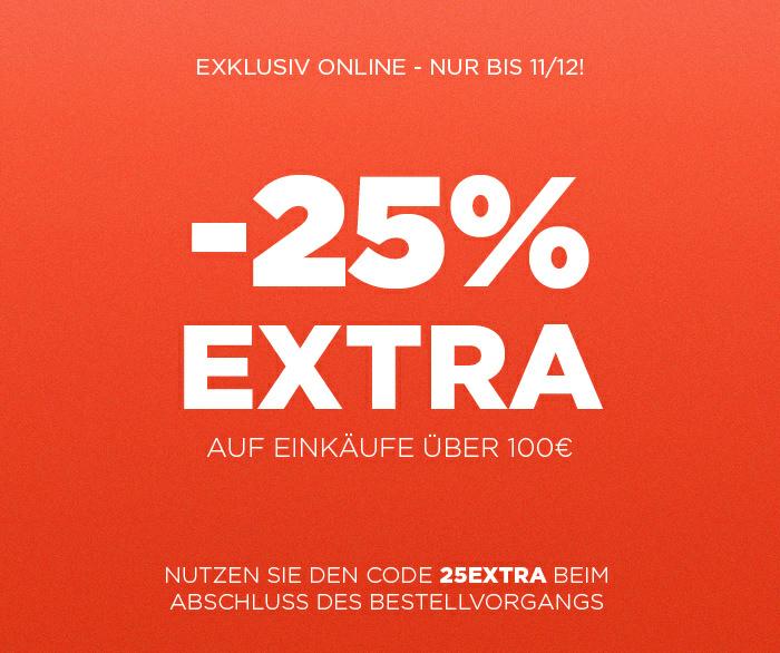 25% auf Alles ab 100€ Bestellwert (MangoOutlet) [Bis zum 11.12.2016]