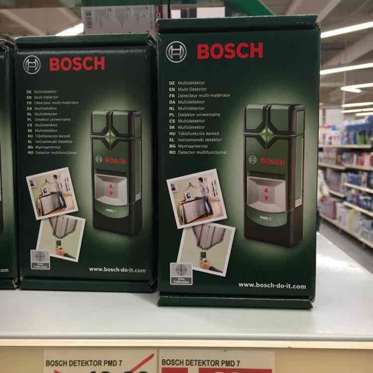 [Bremen bei Edeka im Hansa] Bosch Detektor PMD7