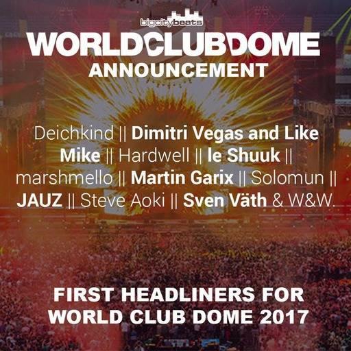 World Club Dome 2017 Club Ticket für 111,08 €