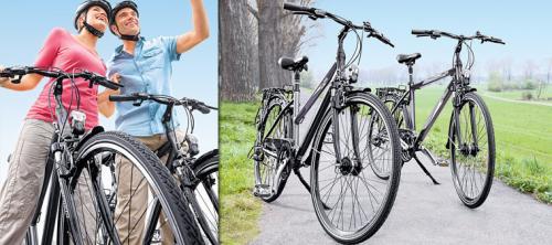 [ALDI-SÜD] Damen- oder Herren- Alu-Trekkingrad, 71 cm/28''
