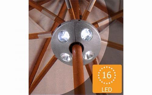 Multistore 2002 Sonnenschirmlampe für 9,99 Euro inklusive Versand