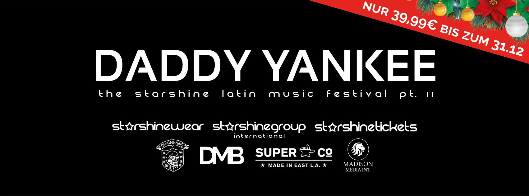 Daddy Yankee Konzerte in Köln und Ludwigsburg