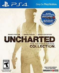 (Amazon.com) Uncharted: The Nathan Drake Collection (PS4) für 21,69€ oder Digital Code für 18,57€