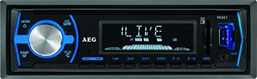 AEG AR 4030 Autoradio mit USB, SD, AUX-IN und Bluetooth/Freisprechen bei Amazon