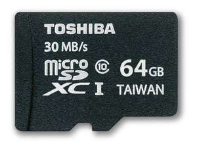 (Gravis Filialen) Toshiba Professional microSDXC 64 GB für 9,99€