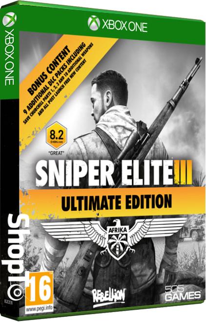 Sniper Elite III Ultimate Edition (PS4 & Xbox One UK Version) für 22,11€ inkl. VSK (shopto.net)