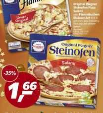 {REAL NRW} Original Wagner Steinofen Pizza oder Flammkuchen für 1,66 €