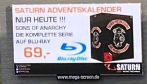 [Lokal] Saturn Wuppertal - Sons of Anarchy komplette Serie - BluRay
