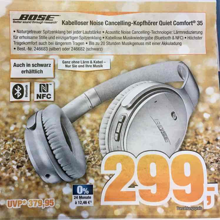 Bose QuietComfort 35 / QC35 [expert bening, lokal?]