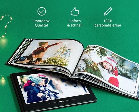 40% Rabatt für Neukunden oder 65% Rabatt auf Fotobücher @ Photobox