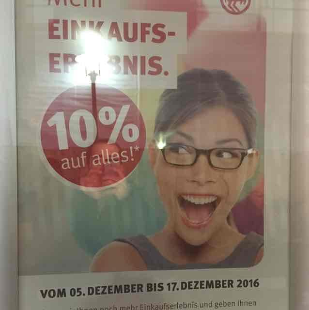 Rossmann Münster Salzstraße 10% auf Alles