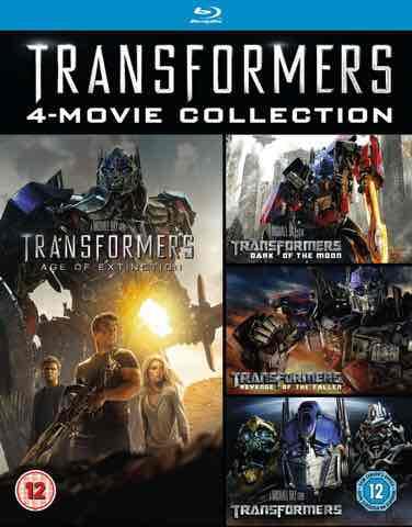 [Zavvi] Transformers Quadrologie Box Set 1-4 Blu-ray