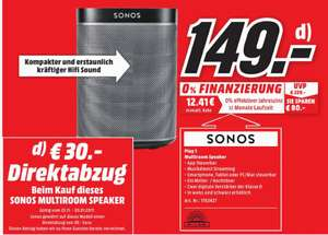 lokales angebot media markt m nster sonos play 1. Black Bedroom Furniture Sets. Home Design Ideas