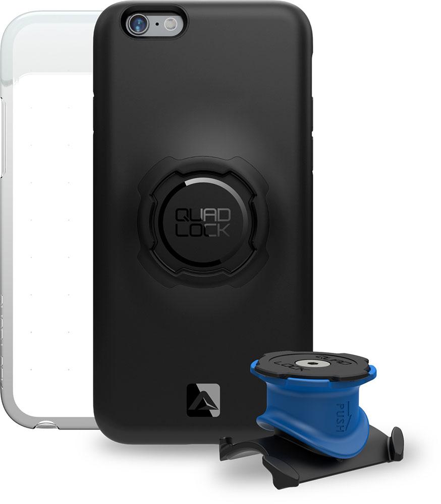 """Quad Lock Bike Kit Fahrradhalterung fürs iPhone 6/6s und 6/6s Plus für ~49€ inkl. Versand aus UK anstatt 69,90€. Als """"DIY"""" auch für iPhone 7/Plus geeignet."""