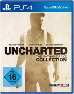[NEUKUNDE] Uncharted: The Nathan Drake Collection (PS4) bei Otto.de für 15,26€ (lieferbar in 3 Wochen)