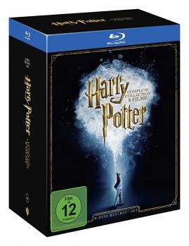 [ALPHAMOVIES.DE] HARRY POTTER - DEUTSCHE KOMPLETTBOX BLU-RAY für nur 32,94€