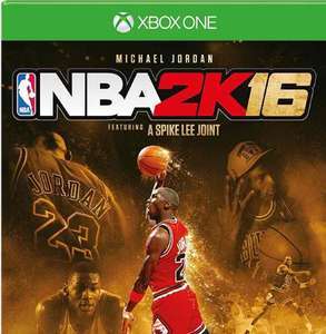 (Amazon) NBA 2K16 - Michael Jordan Edition - [Xbox One] 17,39 mit Prime sonst 20,39€