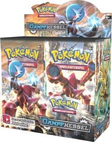 Pokémon Dampfkessel Display mit 36 Boostern (Stück 2,75) [Rakuten + Masterpass]