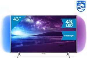 [ibood] Philips 43PUS6201 Smart-TV 108cm 43 Zoll LED 4K UHD 800PPI A+ DVB-T2/C/S2 Ambilight