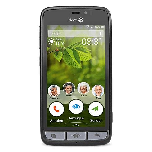 Doro 8031 (4,5 Zoll, LTE, 5 MP Kamera, Android 5.1) Senioren-Smartphone für 119,00€ im Telekom-Shop